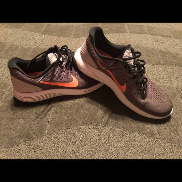hot sale online 0d08d 5ad7c Nike Lunarglide 8 Purple   Orange Lunarlon Shoes. M 5bb6af895c445245ab6886fb